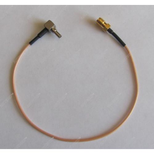 Антенный адаптер для USB 3G/4G модемов Huawei (SMA-fem. - CRC9-121L) Киров