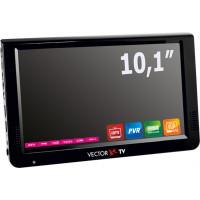Телевизор портативный DVB-T2 Vector VTV-1000