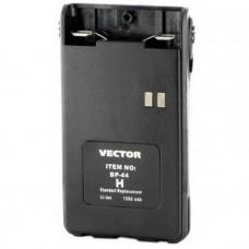 Аккумулятор для рации Vector VT-44H, BP-44