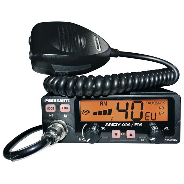 President BARRY ASC 12/24 V CB автомобильная радиостанция